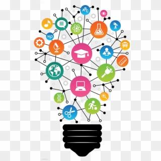 Rc Lightbulb Transparent - Digital Learning Clipart (#1103323) - PikPng