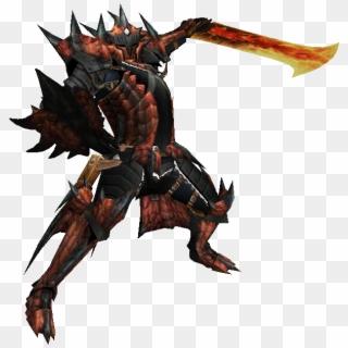 Monster Hunter 3 Ultimate Armor Monster Hunter Red Armor Clipart 1106809 Pikpng