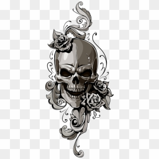 Transparent Background Skull Tattoo Png