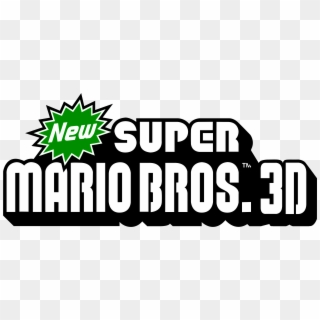 New Super Mario Bros Logo Png Png Download New Super Mario Bros 3 Logo Clipart 1332914 Pikpng