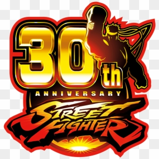 Street Fighter Logo Png Street Fighter 30 Logo Clipart 1508559