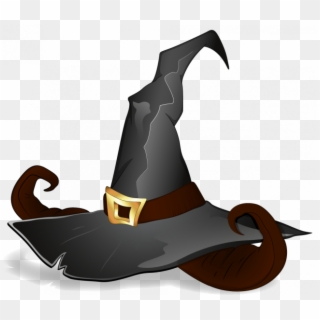 Green Witch Hat Clip Art Halloween Witch Hats Clipart Png Download 186571 Pikpng