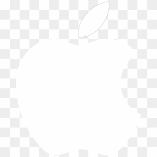 Free White Apple Logo Png Transparent Images Pikpng