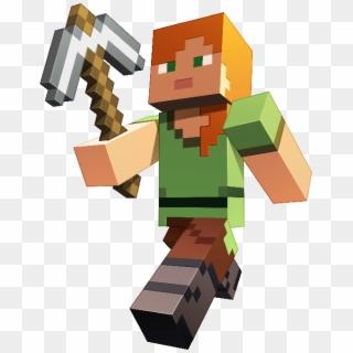 Minecraft Alex Png Alex En Minecraft Clipart 698119 Pikpng