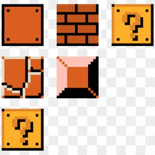 Mario Blocks Pixel Art Mario Blocks Clipart 1947559