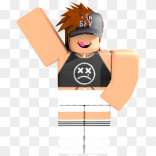 Roblox Sticker Roblox Girl Character Waving Clipart 264497
