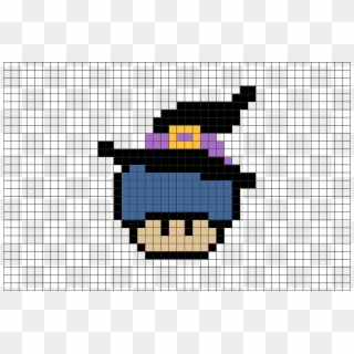 Pixel Art Mario Mushroom Clipart 228191 Pikpng