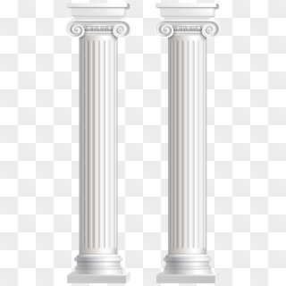 The column in the egyptian temple Royalty Free Vector Image