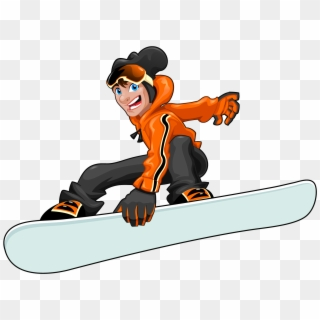 Snowboarding Clipart 3971537 Pikpng