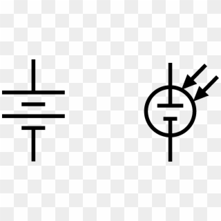 Wiring Diagram Battery Icon Wiring Diagram Automotive - Electrical Symbol  For Solar Panel Clipart (#2569614) - PikPng