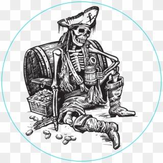 Skull Skeleton Pirate Bones Png Image Iskelet Cizim Clipart 3025873 Pikpng