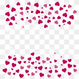 Valentines Day Border Png Heart Border Clip Art Free Clipart Transparent Png 3253735 Pikpng