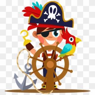 Stickers Porte Prenom Pirate Clipart 342649 Pikpng