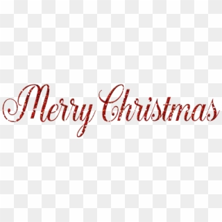 Free Merry Christmas Words Png Transparent Images Pikpng