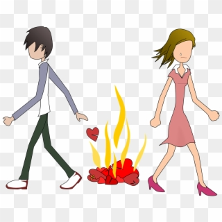 Cute Sad Couple Hd Wallpaper Cartoon For Free Download Breakup Couple Cartoon Png Clipart 3924077 Pikpng