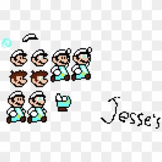 Jesse S Custom Ice Mario Sprites Cartoon Clipart 4437062