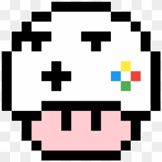 Mario Mushroom Panda Mario Mushroom Pixel Art Clipart 2940771 Pikpng
