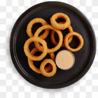 Golden Crispy Onion Rings In Striped Paper Package Royalty Free Cliparts,  Vectors, And Stock Illustration. Image 85389171.
