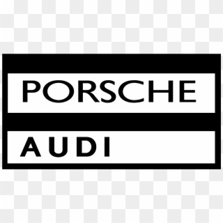 Porsche Audi Logo Png Transparent Black And White Clipart 4849263 Pikpng