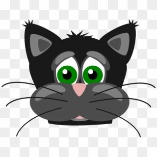 Funny Cat Cartoon Pictures Sad Cat Face Cartoon Clipart 518727