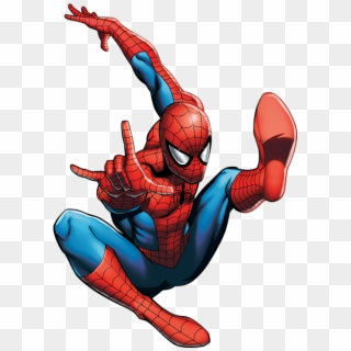 Image Result For Spiderman Poses Comic Spider Man Poses Clipart 5111828 Pikpng
