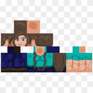 Realistic Minecraft Skins Girls Steve Minecraft Skin Hd Clipart