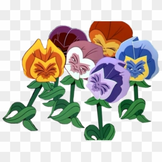 Pansy Clipart Alice In Wonderland Flower Alice In Wonderland Characters Png Transparent Png 5526863 Pikpng