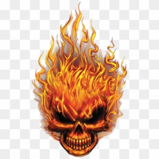 Spiral Direct SKULL BLAST Long sleeve T-Shirt Death//Flames//Horror//Skulls