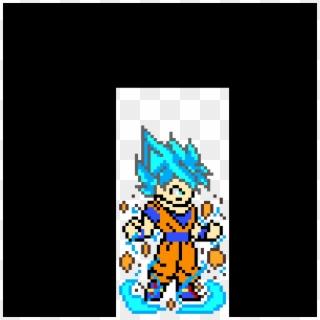 Dragon Ball Z Goku Pixel Art Clipart 4194176 Pikpng