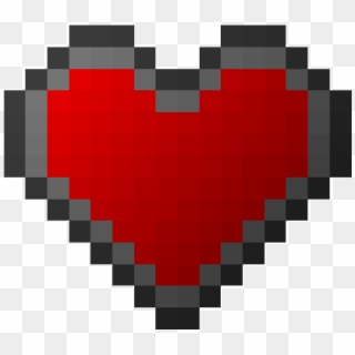 Free Minecraft Heart Png Transparent Images Pikpng