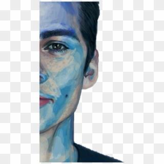 The Maze Runner Blog: LA Press Conference Portraits  Monochromatic Portrait Dylan Obrien