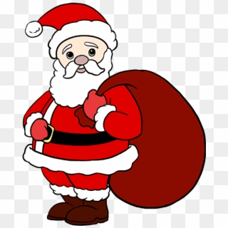 Christmas Santa Comments Santa Claus And His Reindeers Png