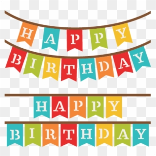 Free Birthday Banner Png Png Transparent Images Pikpng