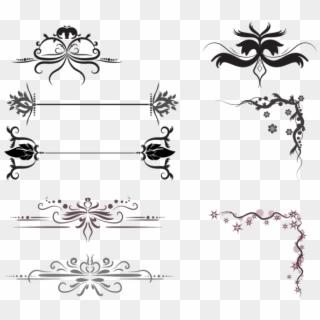 Free Wedding Card Border Design Vector Png Transparent Images Pikpng